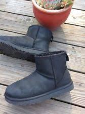 ugg s malindi boots black ugg australia s amelia boot black nubuck leather 5us ebay