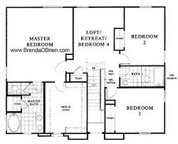Simple 3 Bedroom House Plans Full Image For Simple Three Bedroom House Plan 80627pm Floor Plan