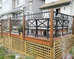 Ideas For Deck Handrail Designs Backyard Deck Railings Deck Railing Designs Wood Cedar Deck