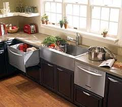 universal design kitchen cabinets efficiency the dishwasher and refrigerator drawers as easily