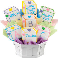 gift cookies personalized baby gifts new baby gift cookies by design