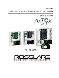 as 525 axtrax software manual 080810 spanish