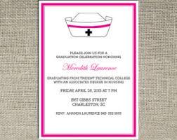nursing school graduation invitations diy nursing graduation invitations nursing school graduation