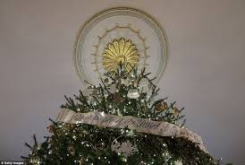 the white house debuts its decorations for obama s last
