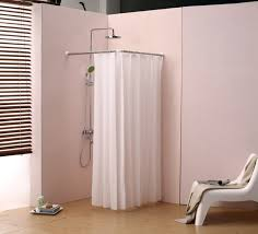 How To Install Shower Curtain How To Hang A Shower Curtain Without A Rod Shower Curtain Rod