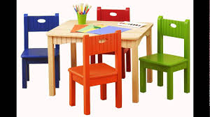 Table And Chairs Set Childrens Plastic Table And Chairs Set Youtube
