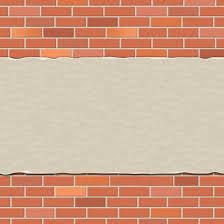 brick wall backdrop brick wall represents empty space and backdrop free stock photo
