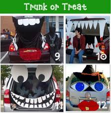 Clever Outdoor Halloween Decorations by Halloween Car Trunk Decorations Whimsical Halloween Decorations