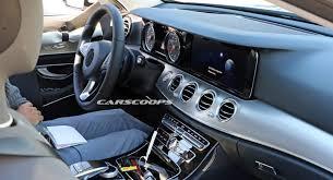 mercedes e class forums 2017 mercedes e class wagon spills the beans on its dashboard