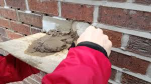 Brick Wall by How To Do Pointing On A Brick Wall Weather Pointing Youtube