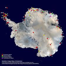 map of antarctic stations antarctica research stations research stations in antarctica