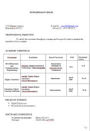 Sample Resume Of Assistant Professor by Sample Resume Call Center Job Fresher