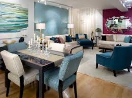 Living Room Dining Room Ideas Decorate With Bold Color Hgtv