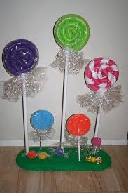 Fake Lollipop Decorations Img 1406 Pool Noodles Candy Land Party And Candy Land