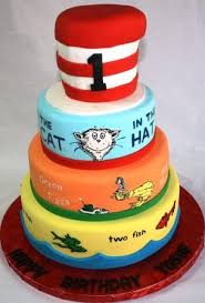 dr seuss birthday cakes dr seuss storybook tiered birthday cake jeanne flickr