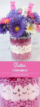 peeps decorations easter centerpiece two