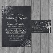fabulous halloween wedding cards with halloween wedding cards