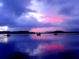 sky sky mix beauty pink nature water blue places sea awesome