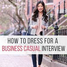 how to dress for a business casual interview punched clocks