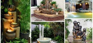 Backyard Features Ideas The Most Fanciful Backyard Water Features Ideas