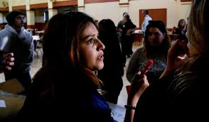 youth address ways to combat violence in santa maria at town hall