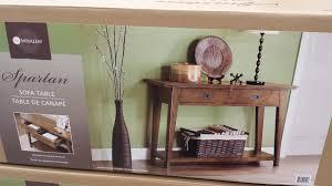 Whalen Furniture Bookcase Whalen Furniture Spartan Sofa Table 199 99 At Costco 30