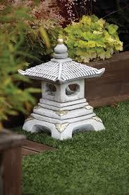 garden ornaments one tier japanese pagoda lantern