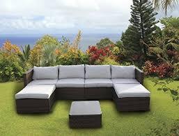 canape d angle exterieur table mobilier de jardin d extérieur en rotin canapé d angle en