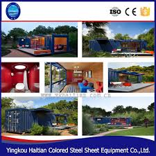 luxury 20ft 40ft expandable container homes pre made folding house