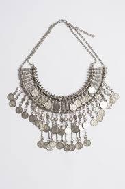 bib necklace metal images Bohemian statement coin bib necklace jpg