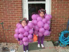 Halloween Grape Costume Homemade Grapes Costume Halloween Costumes