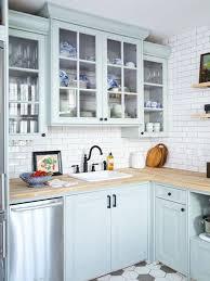 Blue Kitchen Cabinets Inspiration Light Blue Kitchen Cabinets Stunning Kitchen