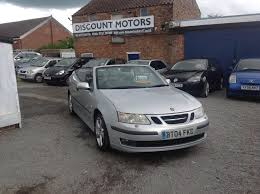 used saab 9 3 convertible for sale motors co uk