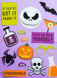 printable halloween props for your photo booth bespoke bride