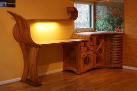 bureau en merisier bureau sauvage en merisier et noyer jp dalon createur de meubles