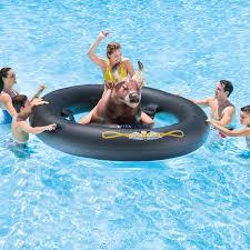 intex inflatabull rodeo bull ride on float walmart com