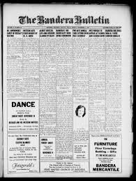 Big D Floor Covering The Bandera Bulletin Bandera Tex Vol 13 No 20 Ed 1