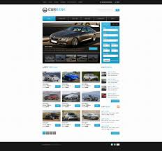 volvo website car dealer website template 39299