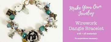 wire jewelry bracelet images Make your own wire jewelry bracelet class backyard for the arts jpg