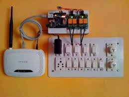 arduino web of relay and lights with ethernet shield
