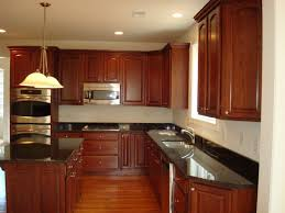 Light Cherry Kitchen Cabinets Kitchen Cherry Kitchen Cabinets With Granite Countertops