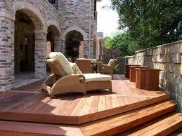 Wood Patio Deck Designs Decks Here S A Lovely Wooden Backyard Dec