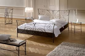 bedroom design rod iron beds metal double bed queen headboard and