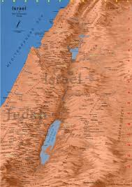 Negev Desert Map Map Of Ancient Israel Map Of Israel In Old Testament Times
