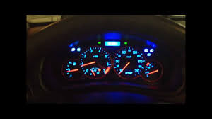 how to tune your speedometer and change the led colors on it youtube