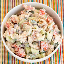 easy salad recipe easy greek chicken salad recipe the weary chef