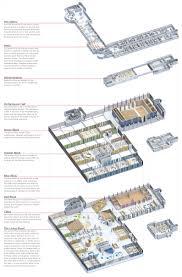exploded floor plan studio in loco culture center bologna