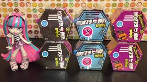 Halloween Monster List Monster High Minis Halloween Season 1 U0026 Season 2 Blind Boxes