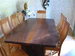 slab dining room table natural wood dining table australia live edge countertops live