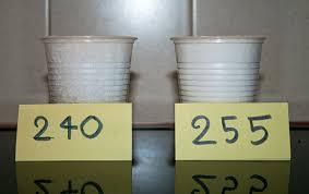 due litri di acqua quanti bicchieri sono il peso sale cristalli di sale 3 scienza in cucina